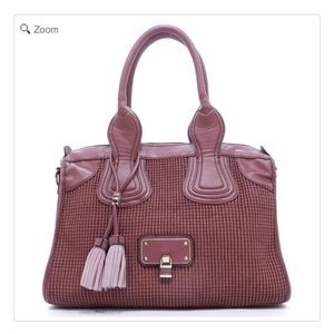 Handbags - NEW Isabelle Embossed Satchel
